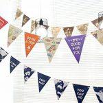 banderole drapeaux monde TOP 1 image 3 produit