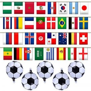 banderole drapeaux monde TOP 7 image 0 produit