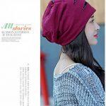 Baotou hat cap sleeve femme tête à casquette Casquette fashion mois chaude nuit d'hiver turban chimiothérapie,gratuitement,bombe micro rouge Jujube de la marque BTBTAV image 3 produit