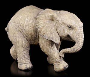 Bébé éléphant Figurine de jardin–Statue de jardin déco de la marque Figuren Shop GmbH image 0 produit