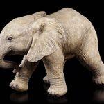 Bébé éléphant Figurine de jardin–Statue de jardin déco de la marque Figuren Shop GmbH image 1 produit