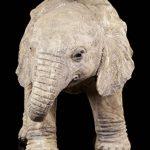 Bébé éléphant Figurine de jardin–Statue de jardin déco de la marque Figuren Shop GmbH image 2 produit