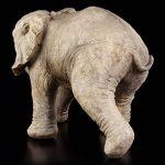 Bébé éléphant Figurine de jardin–Statue de jardin déco de la marque Figuren Shop GmbH image 4 produit