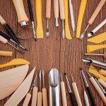BENECREAT 40PCS Argile Sculpture Outils Pottery Carving Tool Set - Comprend Clay Shapers Color, outils de modelisation et couteau de sculpture en bois pour professionnel ou debutants de la marque BENECREAT image 3 produit