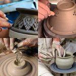 BENECREAT 40PCS Argile Sculpture Outils Pottery Carving Tool Set - Comprend Clay Shapers Color, outils de modelisation et couteau de sculpture en bois pour professionnel ou debutants de la marque BENECREAT image 5 produit