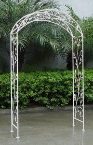 Bentley Garden - Arche décorative de jardin - fer forgé - blanc patiné de la marque Bentley Garden image 0 produit