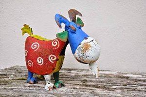Bertie la chèvre Ornement de jardin en métal Sculpture–Peinture vieillie–Beaucoup de Plaisir pour le jardin. de la marque F&G Supplies image 0 produit