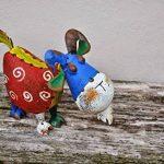 Bertie la chèvre Ornement de jardin en métal Sculpture–Peinture vieillie–Beaucoup de Plaisir pour le jardin. de la marque F&G Supplies image 1 produit