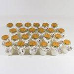 Bestdayever Lot de 24 mini pots en verre contenant une bougie, pour centre de table, cadeau invité mariage de la marque Bestdayever image 1 produit