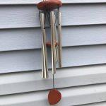 Bestomz Carillon en métal argenté tubes en bois de hêtre Église cloches à suspendre Décor (vin rouge) de la marque BESTOMZ image 1 produit