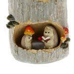 BESTOMZ Pot de Fleurs Cactus et Succulents Plante Bac à Fleurs Rond Pot à Crayons (Fée Jardin Miniature Figurine Résine Hérisson) de la marque BESTOMZ image 3 produit