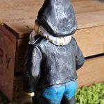 Biker Nain de Jardin - figurine originale avec blouson en cuir de motard de la marque Gnome image 3 produit