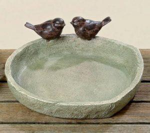 Birdbath Ø 21cm Les escargots de résine synthétique brune (Oiseaux) de la marque Boltze image 0 produit