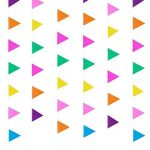 Blulu 3 Paquets Bannière Papier Bannière Drapeau Bannière Triangle 11,5 Pieds Party Bunting Hanging Decorations pour l'Anniversaire de Mariage Décoration de la Maison de la marque Blulu image 3 produit