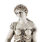 Blumfeldt Ceres sculpture • Statue finition à la main 1,2 m MgO • Fibre de verre • Résistante aux intempéries : UV et au gel • En ciment de fibre de verre et oxyde de magnésium • Socle rond pour un positionnement sécurisé de la marque Blumfeldt image 4 produit
