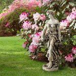Blumfeldt Ceres sculpture • Statue finition à la main 1,2 m MgO • Fibre de verre • Résistante aux intempéries : UV et au gel • En ciment de fibre de verre et oxyde de magnésium • Socle rond pour un positionnement sécurisé de la marque Blumfeldt image 1 produit