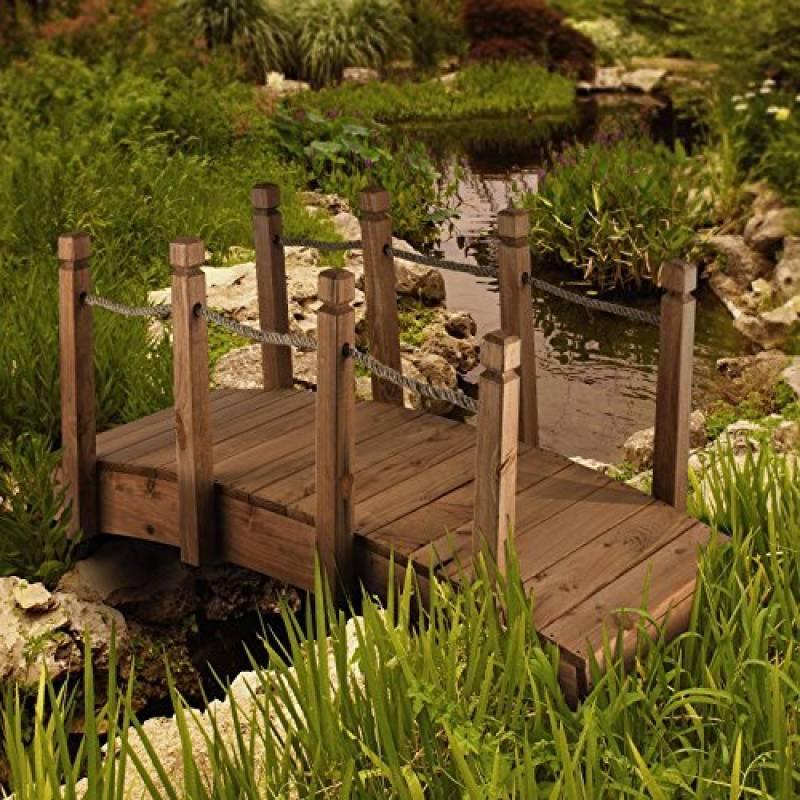 votre meilleur comparatif pont bois jardin pour 2019 d co terrasse. Black Bedroom Furniture Sets. Home Design Ideas