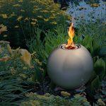 Blumfeldt Supernova Boule de feu (inox argent Ø 25cm, idéal pour terrasse jardin, fonction avec du bioéthanol, écologique et sans résidus, extincteur inclus) de la marque Blumfeldt image 2 produit