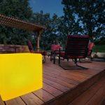 Bonetti Cube avec changement de couleurs 30cm lampe solaire LED IP67RGB ampoule lampe luminaire extérieur Solar Lampe de décoration de jardin Dés Déco Pierre de la marque Bonetti image 4 produit