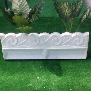Bordure en béton, cordolo, clôture pour jardin, parterre, clôture, clôture de la marque MASTRO GABRIELE image 0 produit