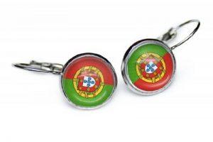 Boucles d'oreilles Portugal Drapeaux sc178 de la marque STINKSANDSTANKS image 0 produit