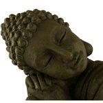 Bouddha Statuette Chinois 43 cm décoration zen pour intérieur extérieur jardin zen, feng shui de la marque INtrenDU image 4 produit