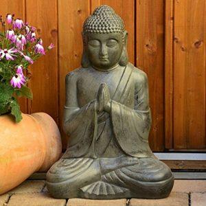 Bouddha Statuette Chinois 50cm décoration zen pour intérieur extérieur jardin zen, feng shui de la marque INtrenDU image 0 produit