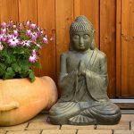 Bouddha Statuette Chinois 50cm décoration zen pour intérieur extérieur jardin zen, feng shui de la marque INtrenDU image 1 produit