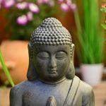 Bouddha Statuette Chinois 50cm décoration zen pour intérieur extérieur jardin zen, feng shui de la marque INtrenDU image 3 produit