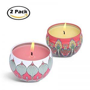 bougies parfumées naturelles TOP 13 image 0 produit