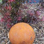 Boule Métal Rouille Décoration acier rouille Grand orange rouille de la marque Gerry image 1 produit