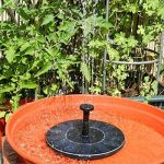 Brightcactus Fontaine solaire, Mignon Bain d'Oiseau pompe à eau solaire électrique, Jardin Autoportant 1.4W Panneau Solaire Kit Pompe à eau, Pompe Extérieure Arrosage Submersible de la marque Brightcactus image 3 produit
