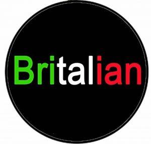 Britalian (Drapeau de couleur polices de caractères) Imprimé sur mesure conçu 58mm Miroir compact rond. fantaisie Miroir de maquillage Idéale pour votre sac à main. Kaboom cadeaux de la marque KABOOM GIFTS image 0 produit