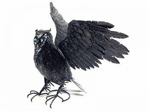 BWA Sculpture décorative en métal pour maison ou jardin - Hibou de la marque BWA image 0 produit