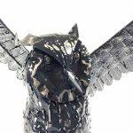 BWA Sculpture décorative en métal pour maison ou jardin - Hibou de la marque BWA image 3 produit