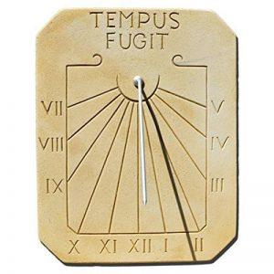 Cadran solaire en peirre reconstituée Tempus fugit de la marque Delta image 0 produit