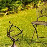 Cadran solaire à poser - décoration de jardin - fonte - style antique - 52 cm de la marque aubaho image 3 produit