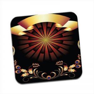 Cadran solaire romain Unique Premium brillant en bois Dessous de Verre de la marque Fancy A Snuggle image 0 produit