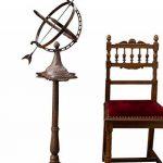 Cadran solaire sur pied - décoration de jardin - style antique - fonte - 122 cm de la marque aubaho image 2 produit