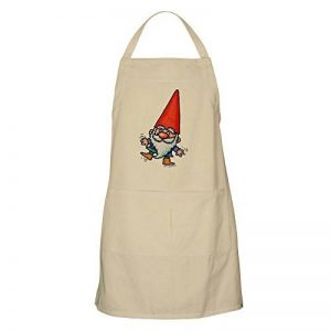CafePress–Nain de jardin Tablier–Tablier de cuisine avec poches, griller Tablier, tablier de cuisson de la marque CafePress image 0 produit