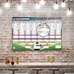 Calendrier de la Coupe du monde 2018 - Russie Football (101,5cm x 68,5cm) de la marque Up Close image 3 produit