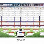 Calendrier de la Coupe du monde 2018 - Russie Football (101,5cm x 68,5cm) de la marque Up Close image 4 produit