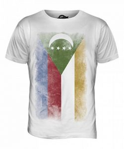 CandyMix Comores Pays Drapeau Dégradé T-Shirt Homme de la marque Candymix image 0 produit