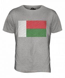 Candymix Madagascar Drapeau Griffonné T-Shirt Homme de la marque Candymix image 0 produit