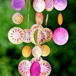 Capiz Coque Windbells Pearl 50cm de hauteur Décor NEUF–Tinas Collection–Le Design différents de la marque Tinas Collection image 1 produit