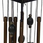 Carillon à Vent 12 Tubes Cloches Métalliques Bronze Décoration de Jardin Extérieur de la marque Générique image 4 produit
