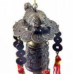Carillon Feng Shui chinois–-- Lucky Tortue Carillon Bon pour la Longévité de la marque feng shui collection NEW YORK image 2 produit