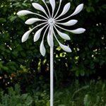 Carillon Moulin à vent dans Antique Blanc en métal avec roulement à bille tourne manoeuvrables de la marque colourliving image 2 produit