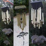 Carillon à Vent 12 Tubes Cloches Métalliques Bronze Décoration de Jardin Extérieur de la marque Générique image 1 produit