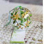 Carillon vent cloches en verre fait main cadeau d'anniversaire cadeau de Noël Maison un vent carillon japonais style poisson (Vert) de la marque EliteShine image 4 produit